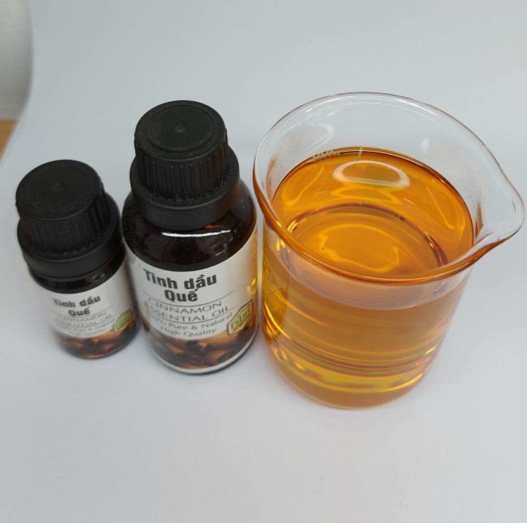 Màu sắc tinh dầu quế xuất khẩu