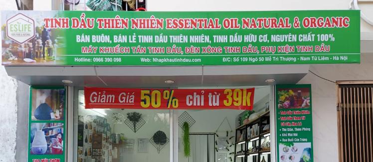 Cửa hàng bán buôn tinh dầu thiên nhiên tại Hà Nội
